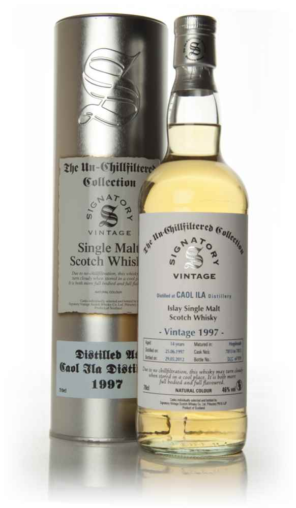 Caol Ila 14 Year Old 1997 - Un-Chillfiltered (Signatory)