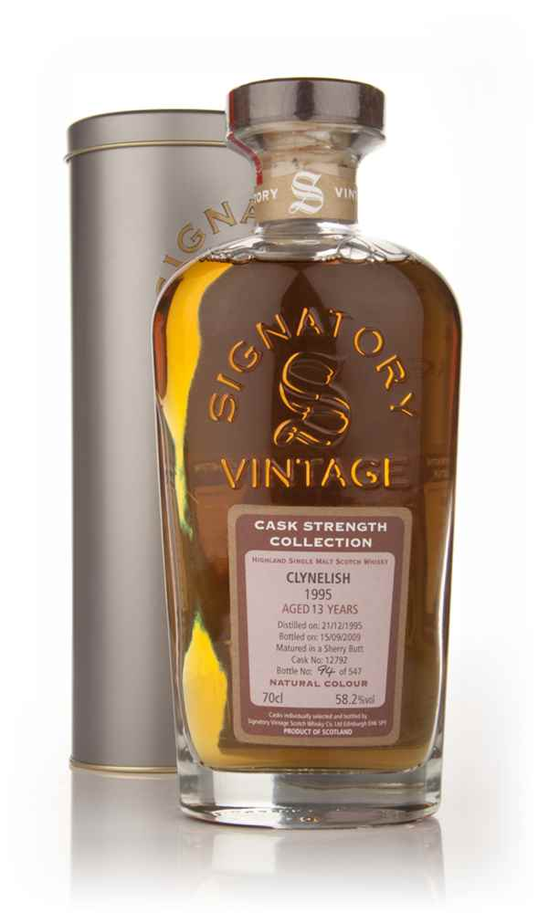 Clynelish 13 Year Old 1995 - Cask Strength Collection (Signatory)