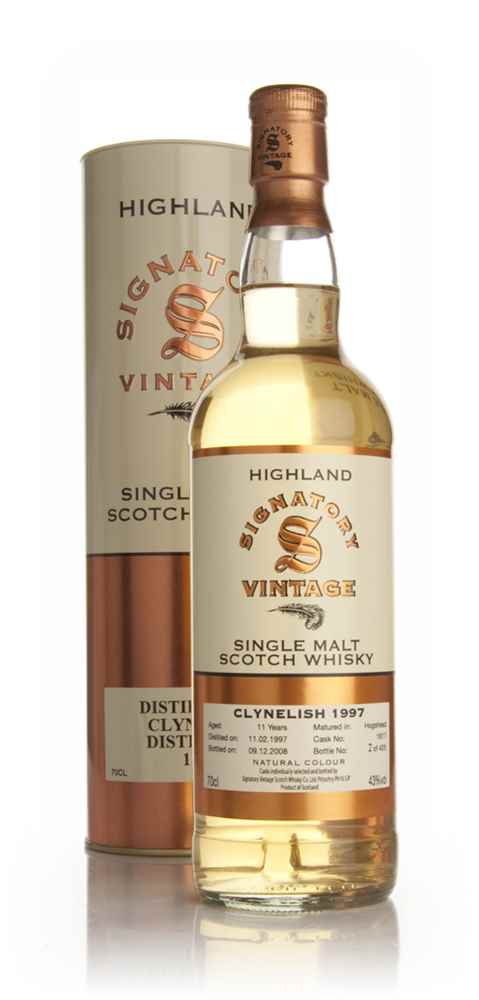 Clynelish 11 Year Old 1997 (Signatory)