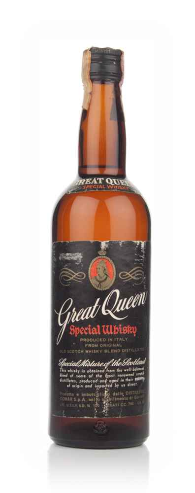 Great Queen Blended Scotch Whisky - 1960s