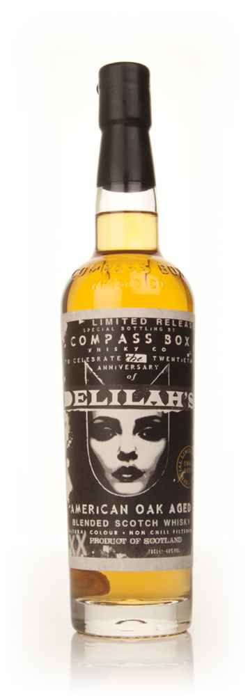 Compass Box Delilah's 20th Anniversary Celebration