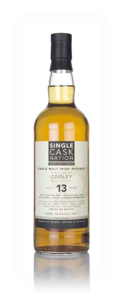 Cooley 13 Year Old 2002 (Single Cask Nation)