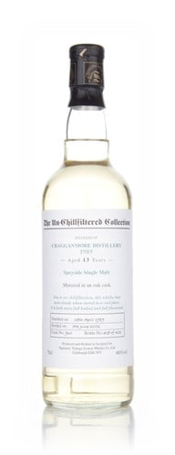 Cragganmore 13 Year Old 1989 - Un-Chillfiltered (Signatory)