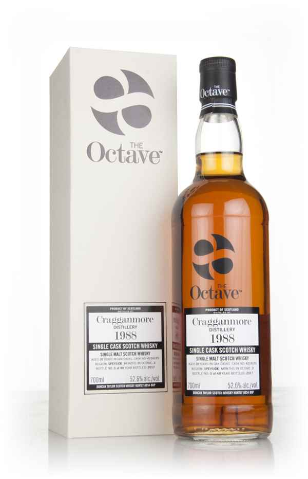 Cragganmore 28 Year Old 1988 (cask 4216173) - The Octave (Duncan Taylor)