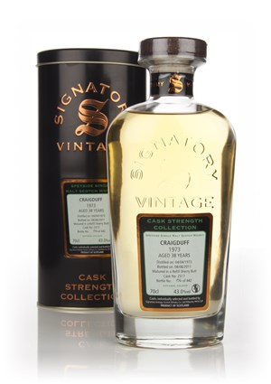 Craigduff 38 Year Old 1973 Cask 2517 - Cask Strength Collection (Signatory)