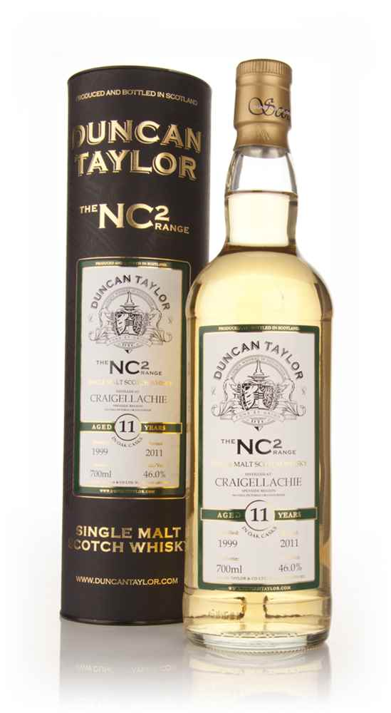 Craigellachie 11 Year Old 1999 - NC2 (Duncan Taylor)