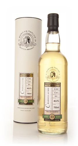 Craigellachie 11 Year Old 2000 - Dimensions (Duncan Taylor)