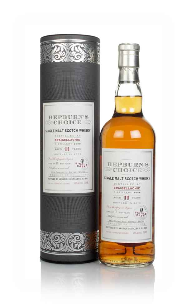 Craigellachie 11 Year Old 2008 - Hepburn's Choice (Langside)