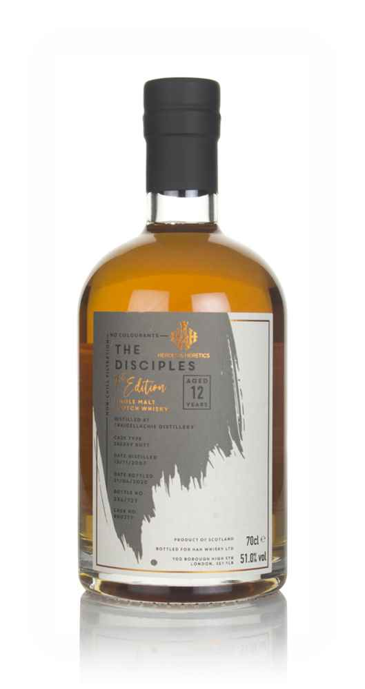 Craigellachie 12 Year Old 2007 (cask 900777) - The Disciples (Heroes & Heretics)