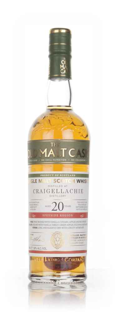 Craigellachie 20 Year Old 1995 (cask 12361) - Old Malt Cask (Hunter Laing)