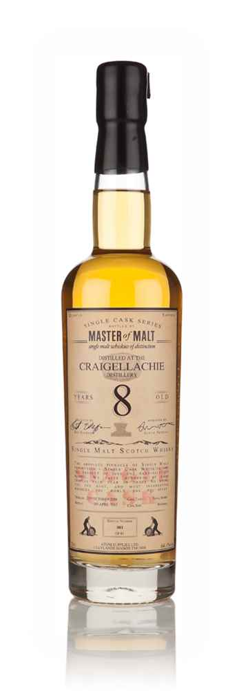 Craigellachie 8 Year Old 2006 - Single Cask (Master of Malt)