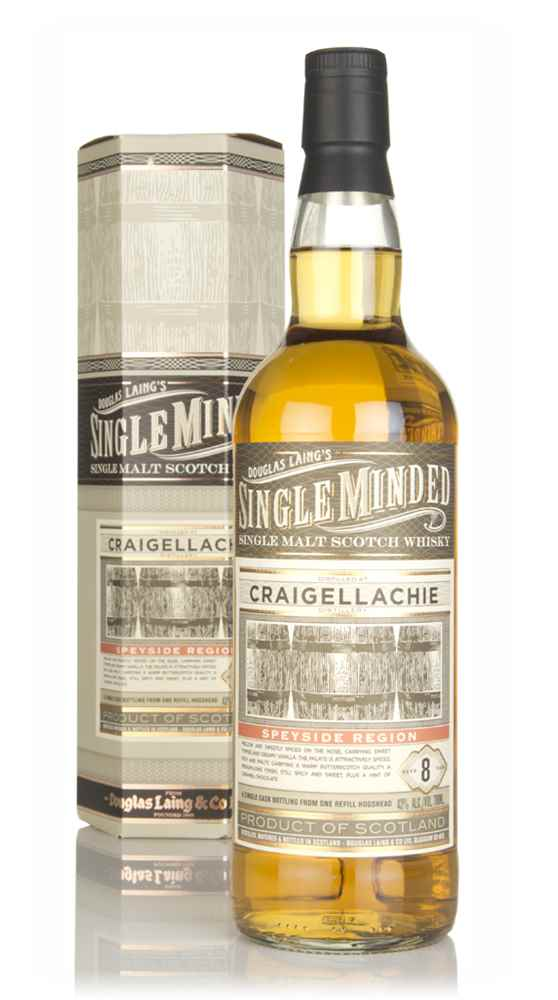 Craigellachie 8 Year Old - Single Minded (Douglas Laing)