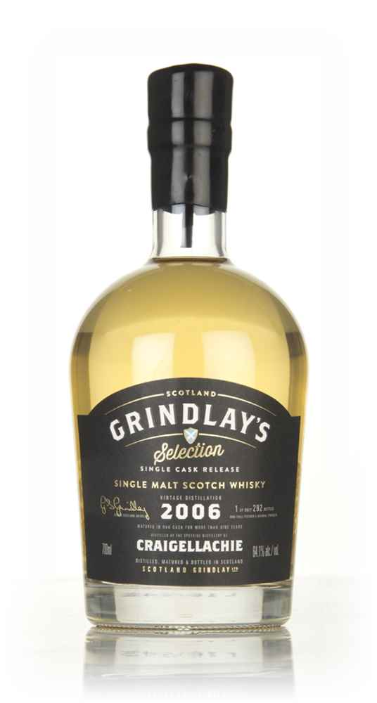 Craigellachie 9 Year Old 2006 (Scotland Grindlay)