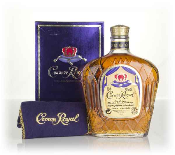Crown Royal Canadian Whisky - post-1990