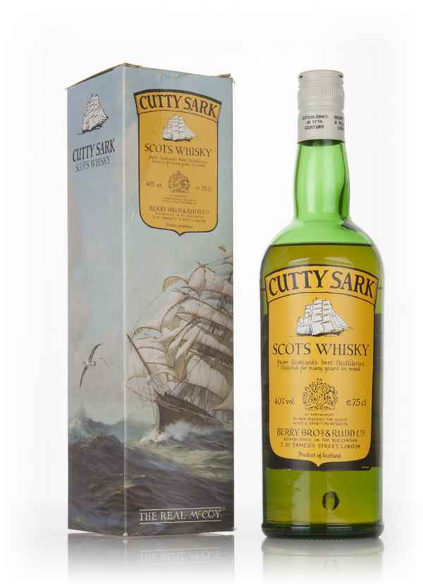 Cutty Sark (Boxed) - 1980s