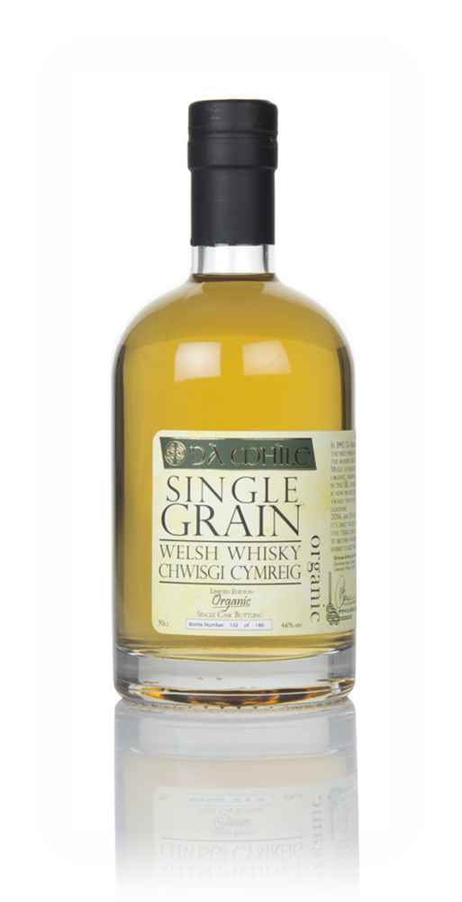 Dà Mhìle Organic Single Grain Welsh Whisky