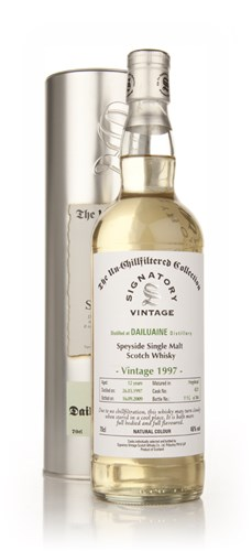 Dailuaine 12 Year Old 1997 Cask 4231 - Un-Chillfiltered (Signatory)