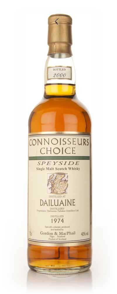 Dailuaine 1974 - Connoisseurs Choice (Gordon and MacPhail)