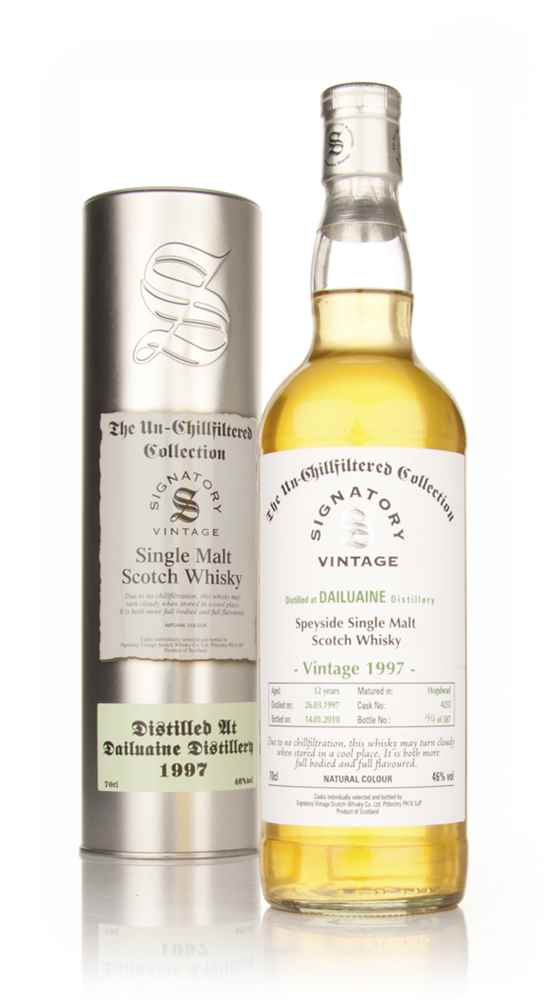 Dailuaine 12 Year Old 1997 Cask 4233 - Un-Chillfiltered (Signatory)
