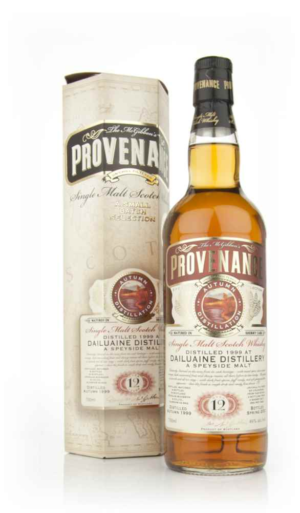 Dailuaine 12 Year Old 1999 - Provenance (Douglas Laing)