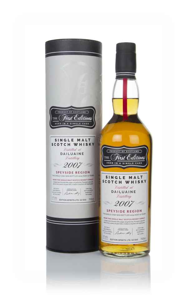 Dailuaine 12 Year Old 2007 (cask 16641) - The First Editions (Hunter Laing)