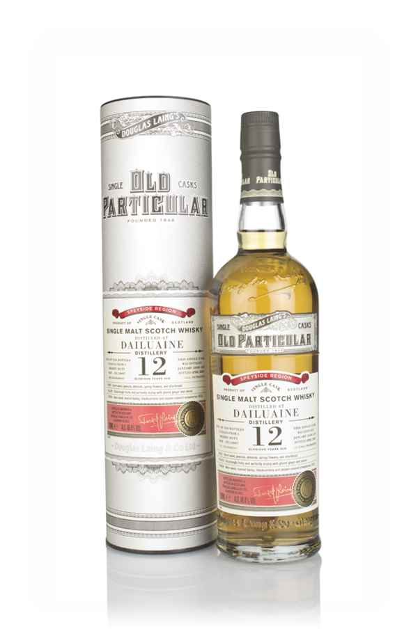 Dailuaine 12 Year Old 2008 (cask 14007) - Old Particular (Douglas Laing)