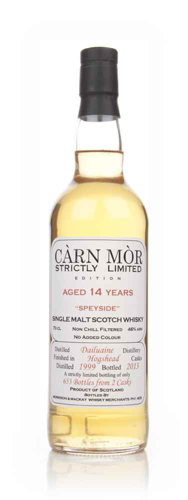 Dailuiane 14 Year Old 1999 - Strictly Limited (Càrn Mòr)