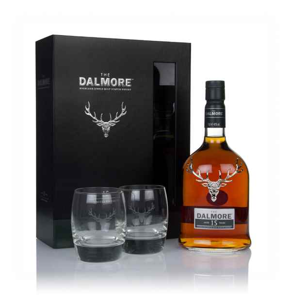 Dalmore 15 Year Old Gift Pack with 2x Glasses