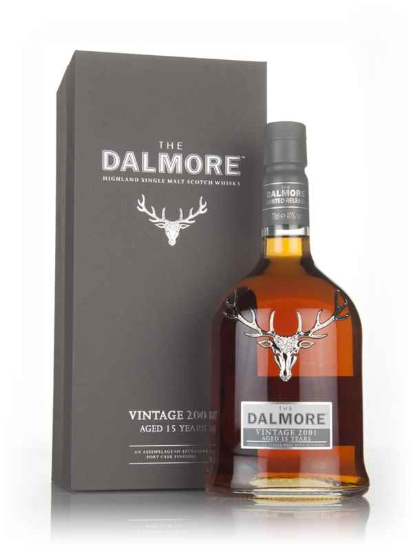 Dalmore 15 Year Old - Vintage 2001