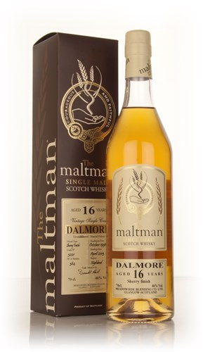 Dalmore 16 Year Old 1996 (cask 3221) (The Maltman)