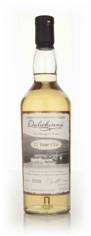 Dalwhinnie 12 Year Old - The Manager's Dram