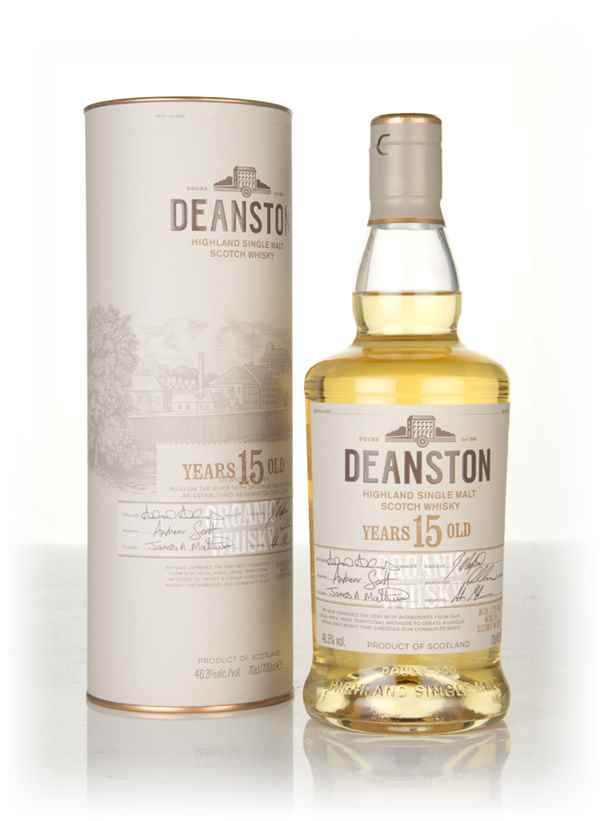 Deanston 15 Year Old Organic Whisky