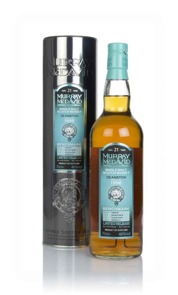 Deanston 21 Year Old 1996 (casks 600009 & 10) - Benchmark (Murray McDavid)