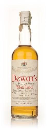 Dewar's Blended Scotch Whisky - 1970s