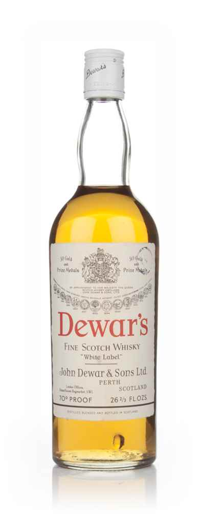 Dewar's White Label - 1970s