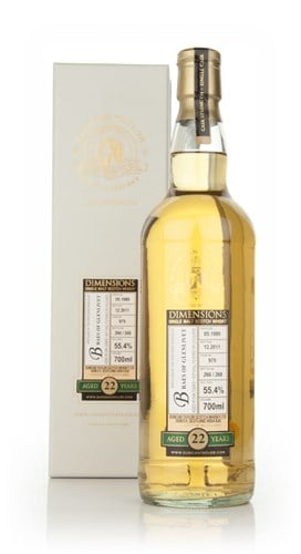 Braes of Glenlivet 22 Year Old 1989 - Dimensions (Duncan Taylor)