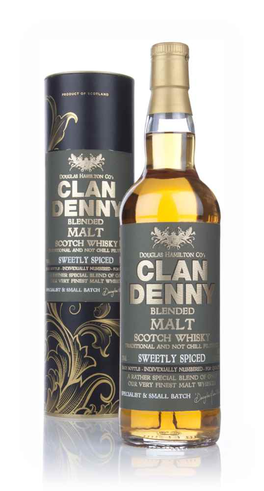 Clan Denny Sweetly Spiced Blended Malt