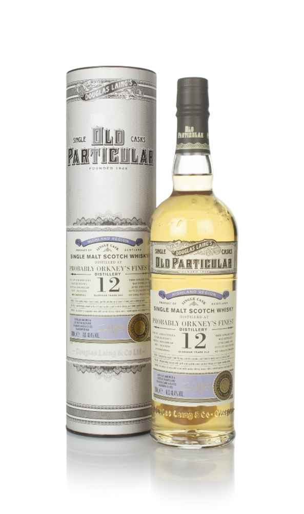 Probably Orkney's Finest Distillery 12 Year Old 2008 (cask 14290) - Old Particular (Douglas Laing)