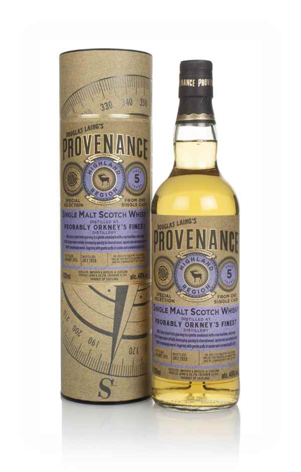 Probably Orkney's Finest Distillery 5 Year Old 2015 (cask 14112) - Provenance (Douglas Laing)