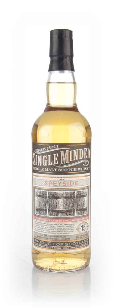 Speyside 15 Year Old - Single Minded (Douglas Laing)
