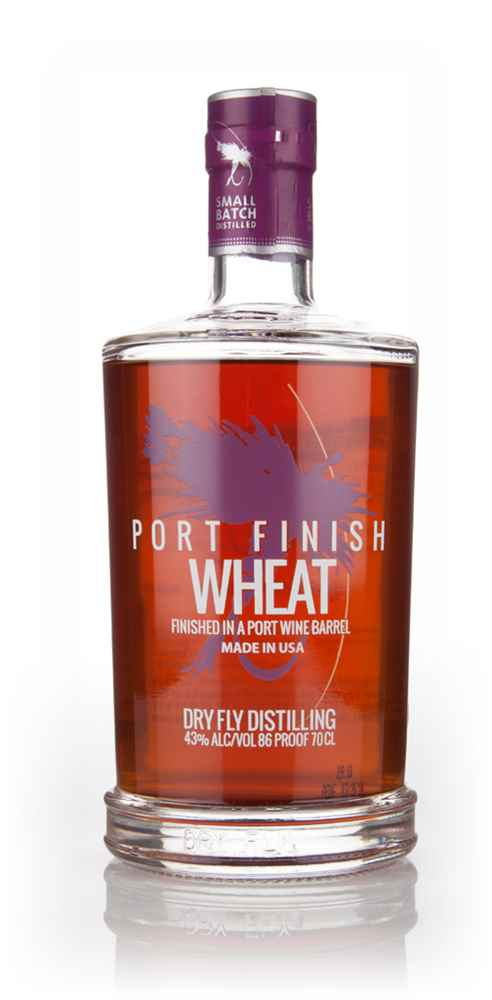 Dry Fly Wheat Whiskey - Fortified Huckleberry Wine Cask Finish
