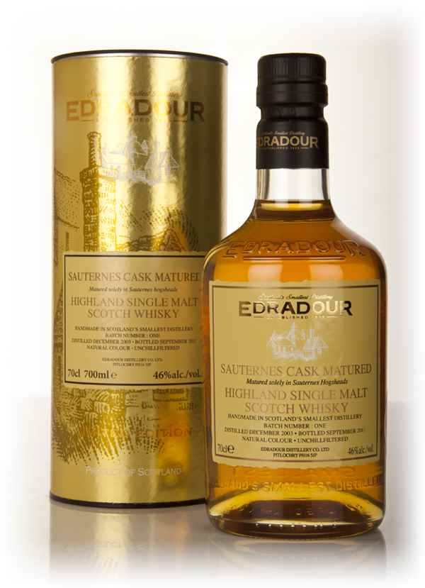 Edradour 2003 Sauternes Cask Matured - Batch 1