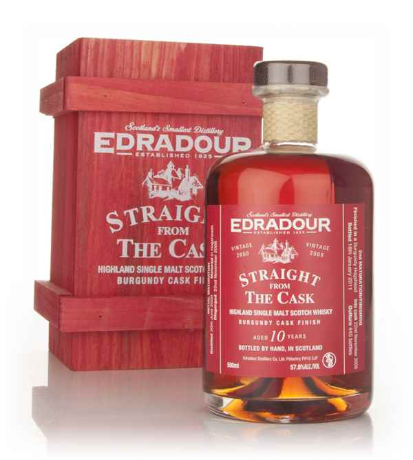 Edradour 10 Year Old 2000 Burgundy Cask Finish - Straight from the Cask