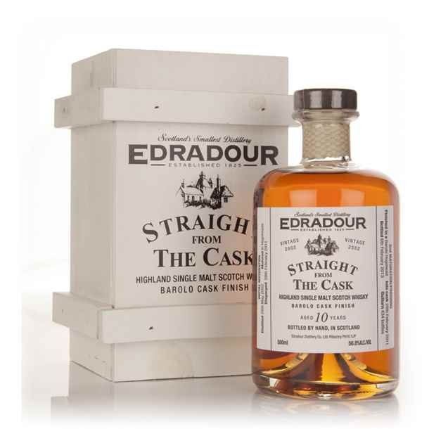 Edradour 10 Year Old 2002 Barolo Cask Finish 56.8% - Straight From The Cask