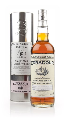 Edradour 10 Year Old 2002 (cask 457) - Un-Chillfiltered (Signatory)