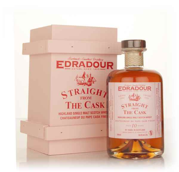Edradour 10 Year Old 2002 Châteauneuf-du-Pape Cask Finish - Straight From The Cask