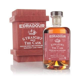 Edradour 11 Year Old 2002 Burgundy Cask Finish - Straight From the Cask 58.6%