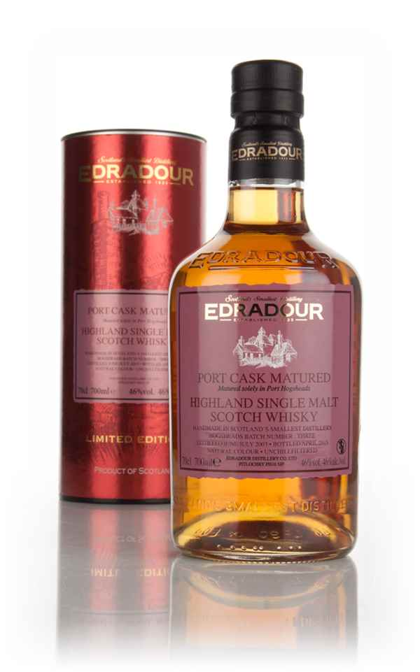 Edradour 11 Year Old 2003 Port Cask Matured - Batch 3