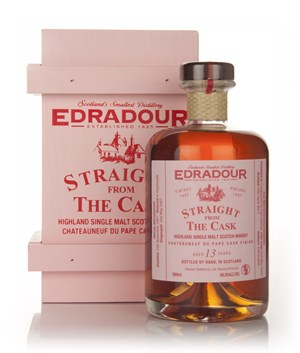 Edradour 13 Year Old 1997 Châteauneuf-du-Pape Cask Finish - Straight from the Cask