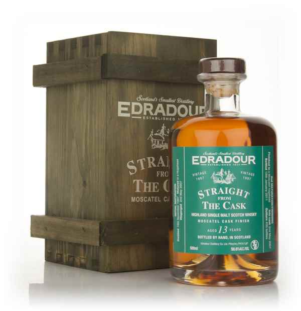 Edradour 13 Year Old 1997 Moscatel Cask Finish - Straight from the Cask 56.6%